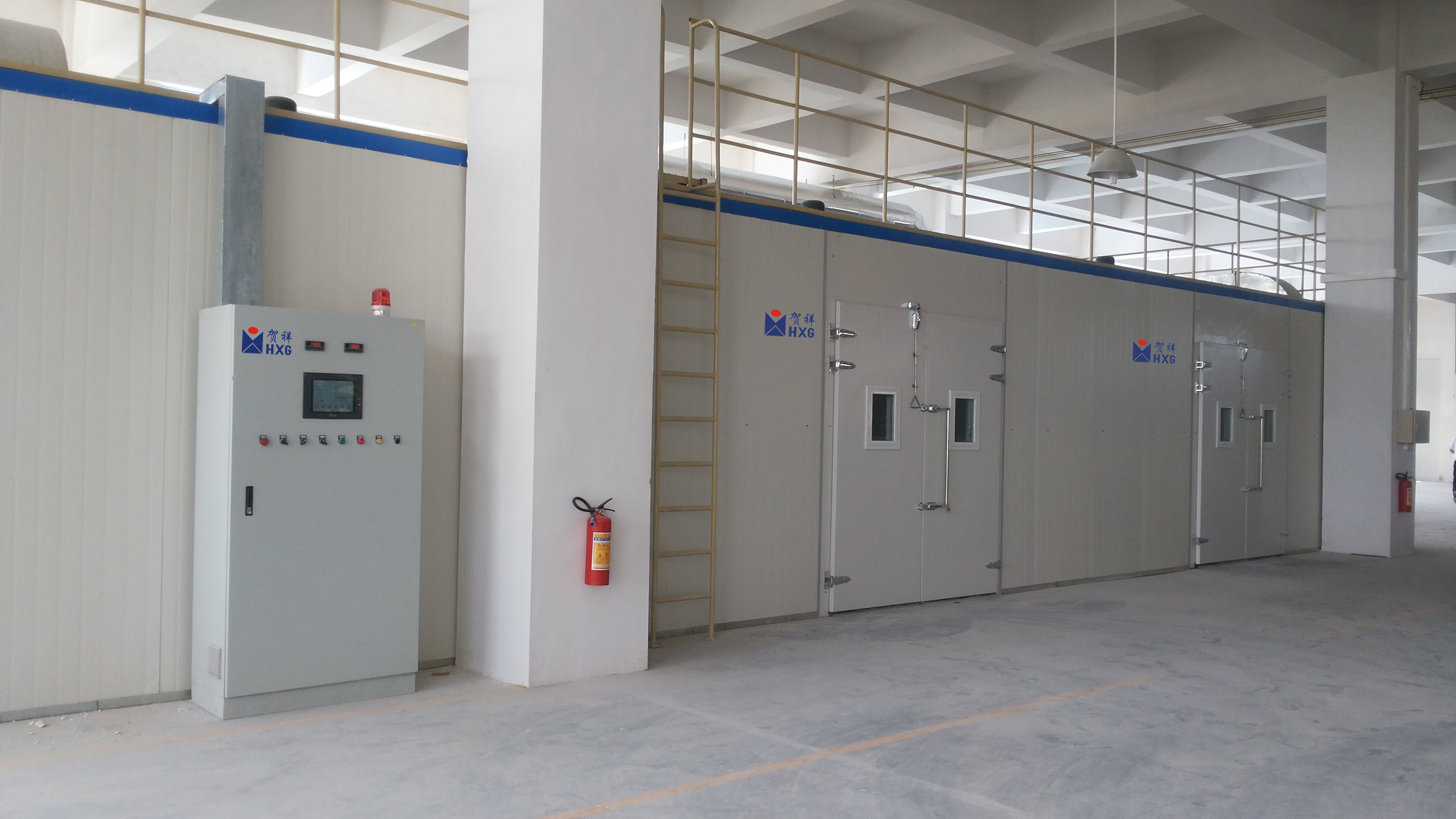 FAST DRYING CHAMBER
